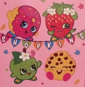 Shopkins Throw Blanket