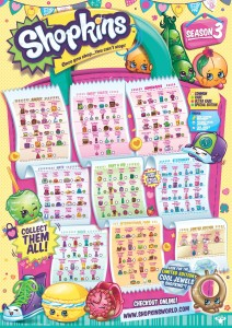 Shopkins Season 3 Release