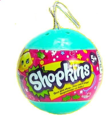 Shopkins - Christmas Ornament 2 Shopkins In A Bauble - Exclusive ...