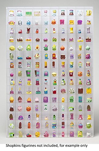 Shopkins TM Display Wall Hanging Acrylic Showcase For Collectibles 150  Openings