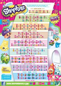 Shopkins Season 1 checklist