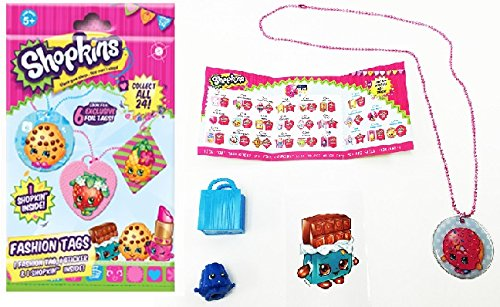 shopkins season 1 fashion tag mystery pack toy set styles and