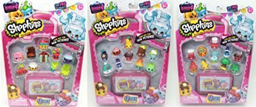 Shopkins Season 4 Bundle Of 3 12 Packs 36 Unique