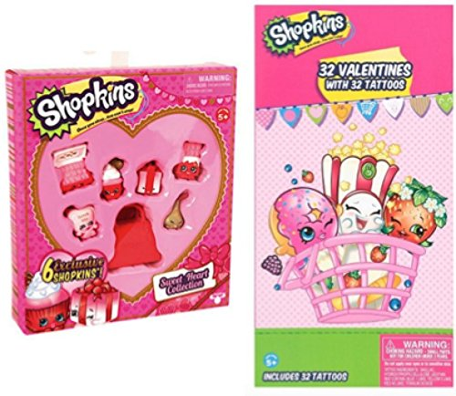 Valentine S Day Toys R Us : Shopkins valentine s day gift set sweetheart collection