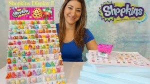 Shopkins Display Case