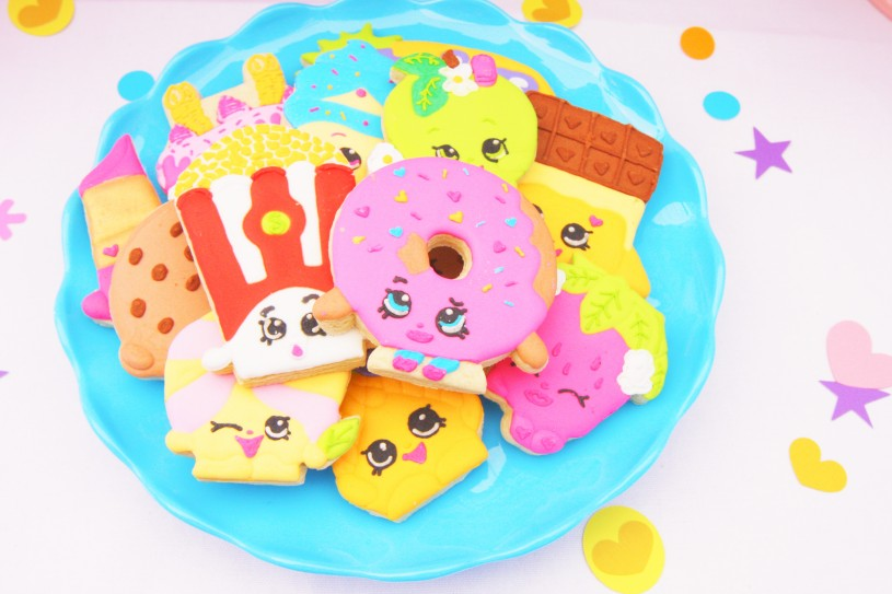 Shopkins Party Cookies