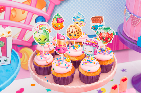 Shopkins Party Cupcakes