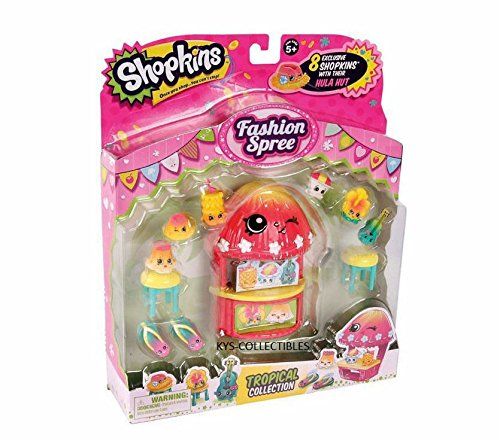 shopkins tropical collection