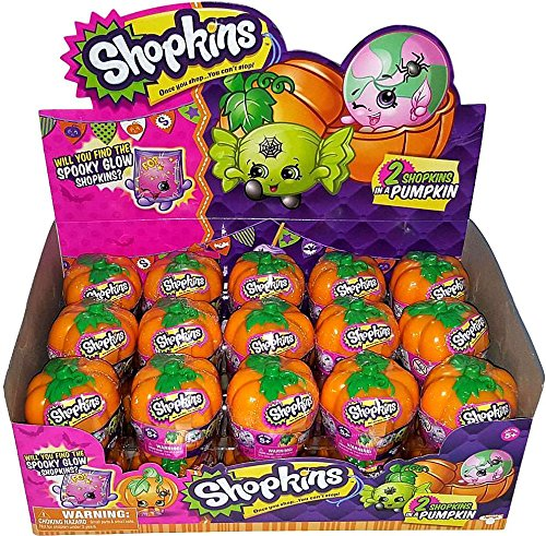 Shopkins Halloween Surprise Pumpkins